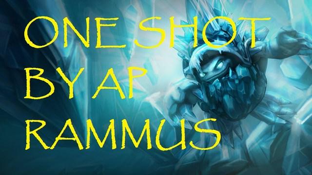 Rammus AP có khả năng dồn sát thương không hề nhẹ.