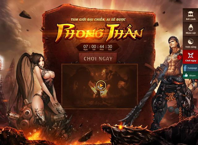Game nào cho người yêu thích cốt truyện Phong Thần?