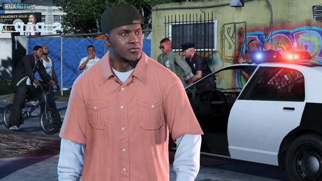 Văn hóa Mỹ đã ăn sâu vào dòng game Grand Theft Auto cũng như trở thành bản sắc đặc trưng của series.