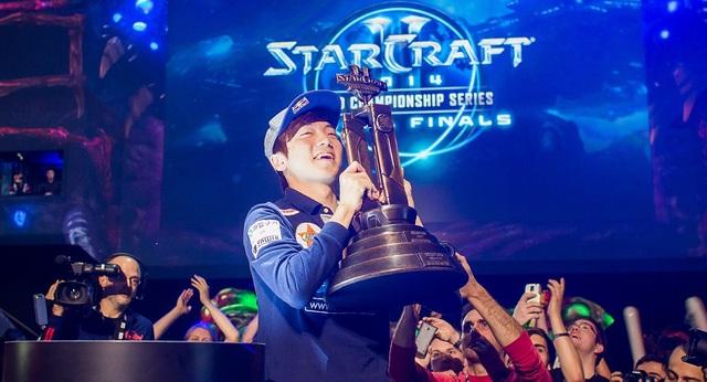 Khoảnh khắc đăng quang ngôi vô địch thế giới của Life tại WCS Global Finals 2014