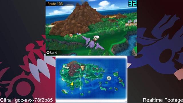 Giả lập Citra China Build chạy Pokemon Omega Ruby và Alpha Sapphire khá trơn tru