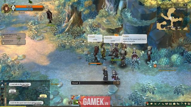Người chơi thường xuyên gặp phải tình trạng không trả được nhiệm vụ