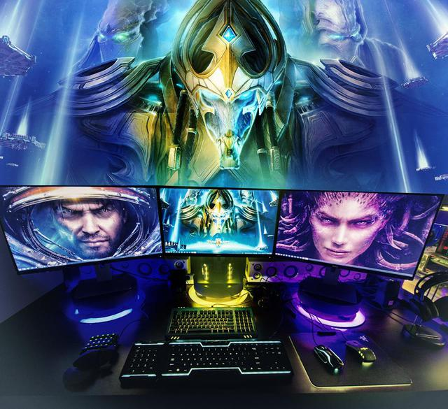 Fan StarCraft chắc chắn sẽ thích mê góc chơi game này.