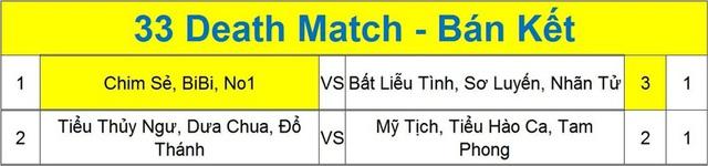 Việt Nam khiến người Trung Quốc ngỡ ngàng ở thể thức 3v3 Death Match.