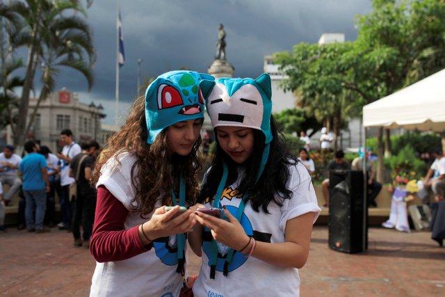Thành phố San Salvador ở El Salvador đã tổ chức hẳn poketour vòng quanh thành phố