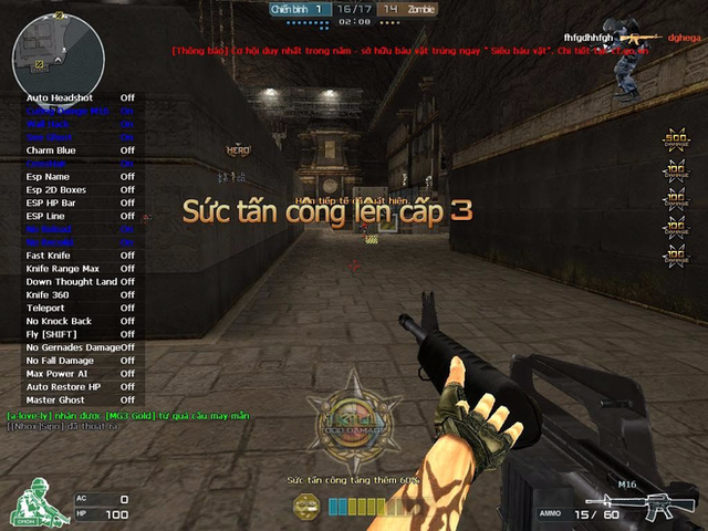 Hack Đột Kích, game thủ này đã bị đuổi khỏi quán net ngay lập tức
