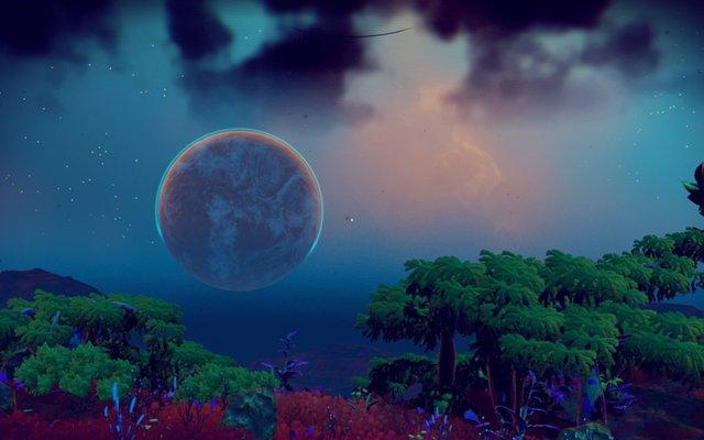 Nhưng vì những hành tinh này được sản sinh ra tự động bằng thuật toán chứ không phải bằng tay người thiết kế, nên tìm kiếm được một cảnh đẹp là điều đặc biệt
