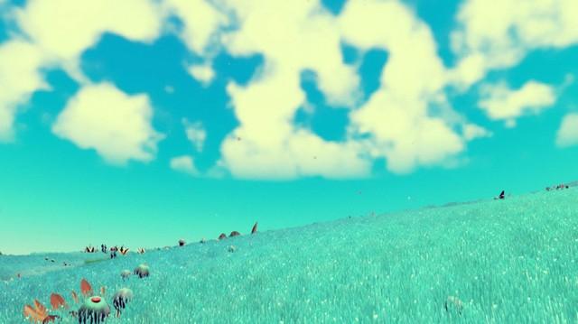 Và lúc khác, bạn lại có một hành tinh xanh bao la thế này
