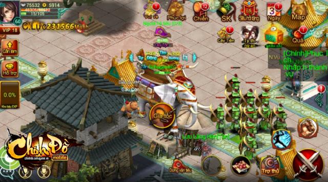 Hệ thống vận tiêu trong Chinh Đồ Mobile sẽ cung cấp thêm NPC vệ binh để hỗ trợ bảo vệ người chơi.
