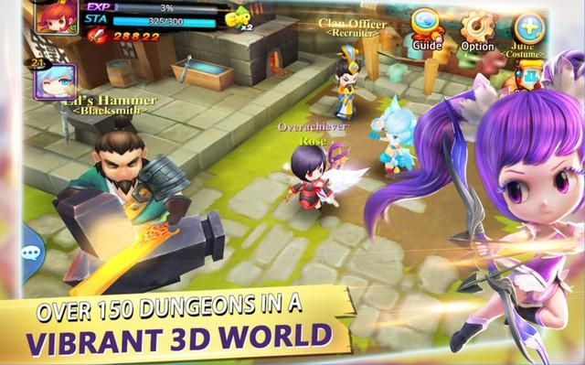 Tome of the Sun - Tuyệt tác MMORPG 3D Anime đẹp từ hình ảnh đến lối chơi