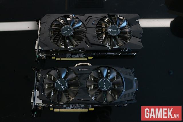 """Đập hộp bộ đôi card đồ họa GTX 1070 và 1060 EXOC đến từ """"dải ngân hà"""" Galax"""