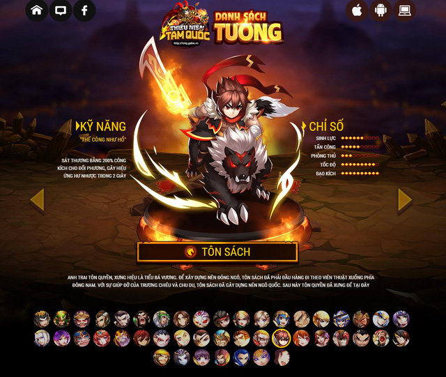 Game mobile chiến thuật Thiếu Niên Tam Quốc cập bến Việt Nam