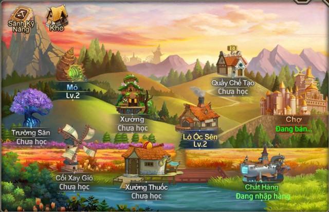 Có rất nhiều phụ bản để người chơi kiếm tài nguyên từ các kĩ năng sống