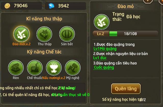 Nhiều kĩ năng sống mới lạ trong Fantasy GO mà chưa game mobile nào có