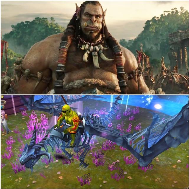 Cả 2 sản phẩm này đều lấy cảm hứng từ thế giới Warcraft