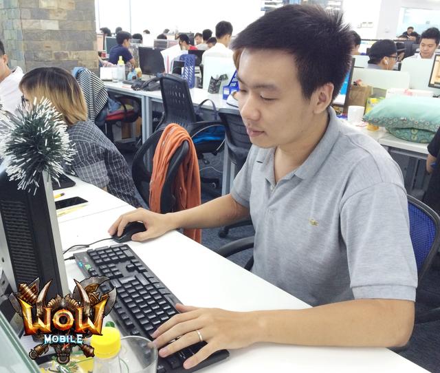 Anh Phạm Khánh Toàn, trưởng bộ phận vận hành dự án WoW Mobile