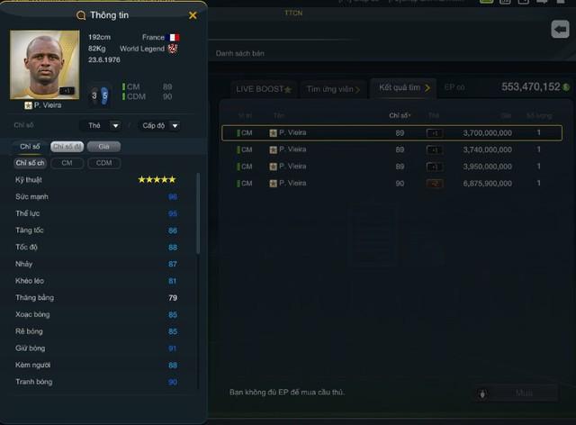 FIFA Online 3: Lí giải việc nhiều World Legend không còn là hàng hiếm