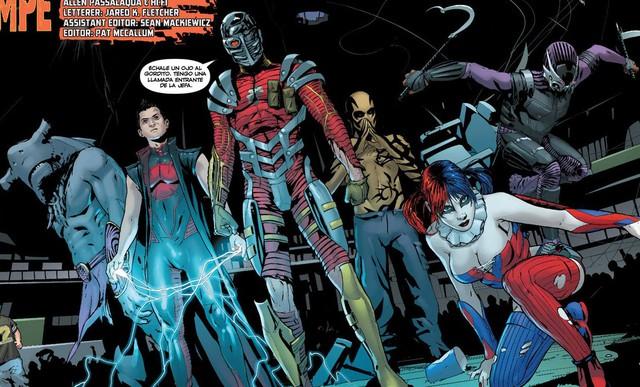Suicide Squad xuất hiện trong thế giới New 52 của DC Comics