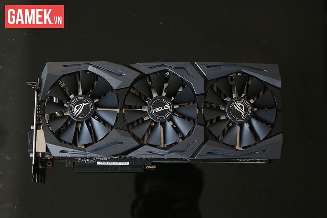 Asus Strix GTX 1080 tại Việt Nam - Ngầu hơn, màu mè hơn, mát hơn, khỏe hơn