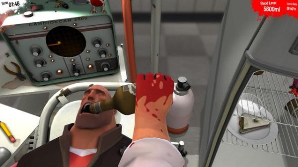 Surgeon Simulator kết hợp Team Fortress 2 4