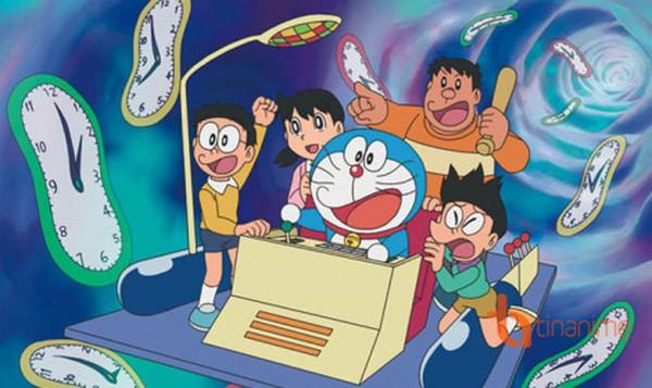 Cỗ máy thời gian và 5 món bảo bối thần kỳ của Doraemon đã từng xuất hiện trong các phim nổi tiếng