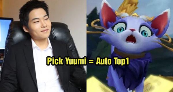 Dopa bất ngờ chia sẻ cách đạt được top1 xếp hạng mùa mới nhanh nhất - Auto pick Yuumi