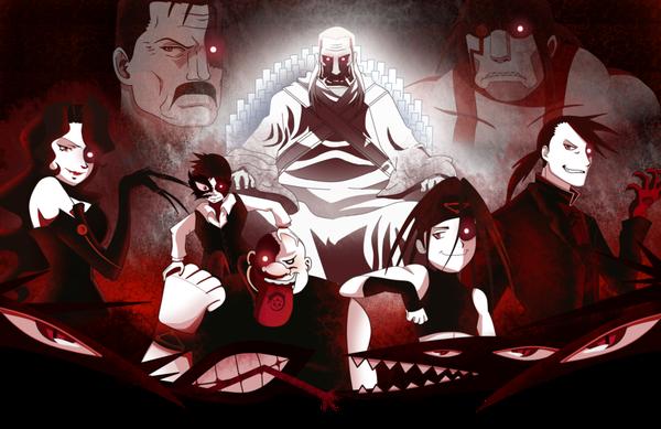 Cùng tìm hiểu cội nguồn của 7 'con quỷ' Homunculus trong Fullmetal Alchemist