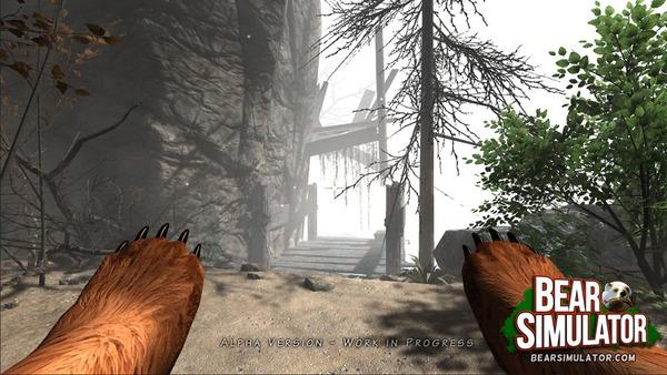 Bear Simulator: Đổi gió khi vào vai động vật 1