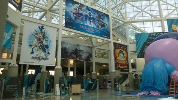 Dạo chơi E3 2014 trước ngày khai mạc 1