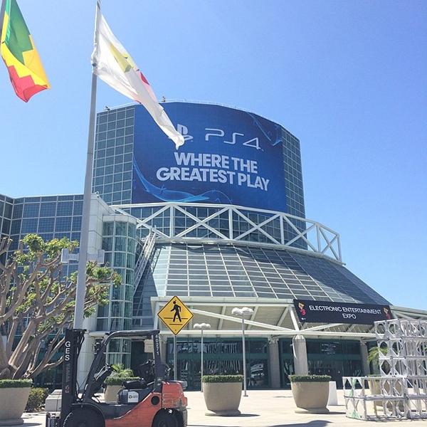 Dạo chơi E3 2014 trước ngày khai mạc 2