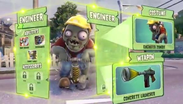 PvZ: Garden Warfare cho phép gamer biến thành quái vật 2