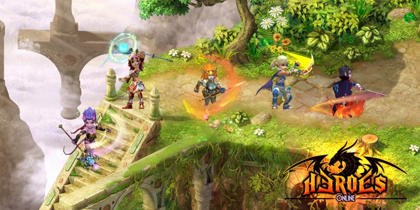 Heroes Online lộ ảnh Việt hóa, mở cửa ngày 12/8 6