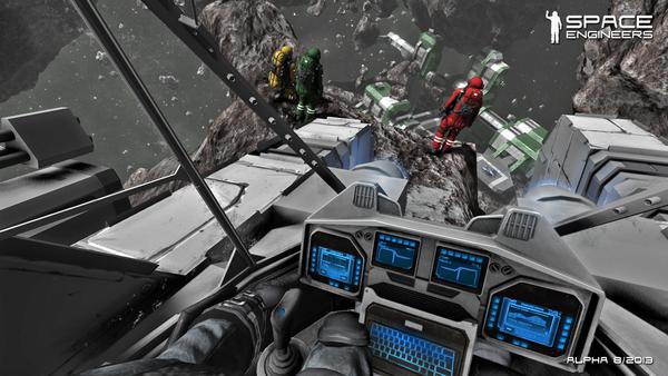 Game sandbox Space Engineers mở cửa cuối tháng 10 1