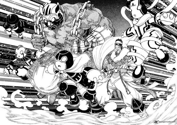 Rakshasa Street, truyện tranh Tàu giống Vua Pháp Thuật 2