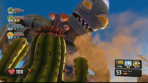 PvZ: Garden Warfare giới thiệu gameplay như Battlefield 4 1