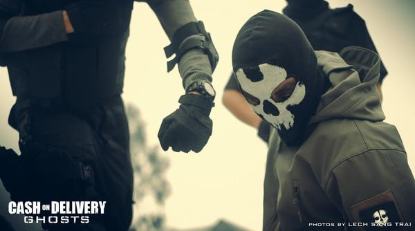 "Cosplay Call of Duty: Ghosts ""thuần Việt"" cực chất 3"