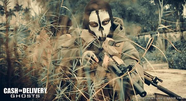 "Cosplay Call of Duty: Ghosts ""thuần Việt"" cực chất 8"