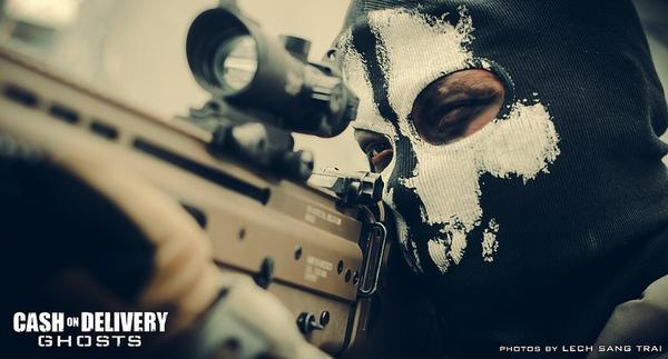 "Cosplay Call of Duty: Ghosts ""thuần Việt"" cực chất 10"