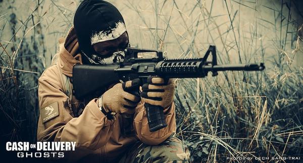 "Cosplay Call of Duty: Ghosts ""thuần Việt"" cực chất 11"