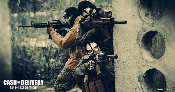 "Cosplay Call of Duty: Ghosts ""thuần Việt"" cực chất 13"