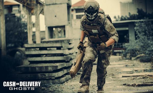 "Cosplay Call of Duty: Ghosts ""thuần Việt"" cực chất 15"