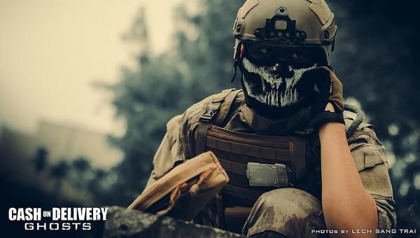 "Cosplay Call of Duty: Ghosts ""thuần Việt"" cực chất 16"
