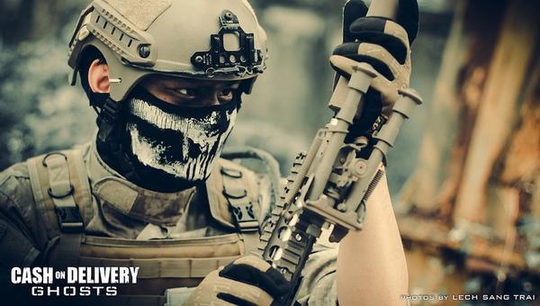 "Cosplay Call of Duty: Ghosts ""thuần Việt"" cực chất 17"