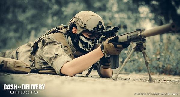 "Cosplay Call of Duty: Ghosts ""thuần Việt"" cực chất 18"