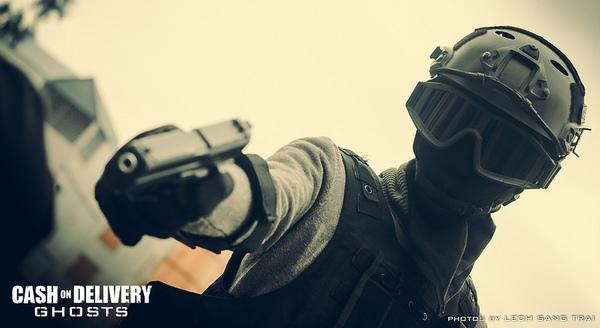 "Cosplay Call of Duty: Ghosts ""thuần Việt"" cực chất 20"