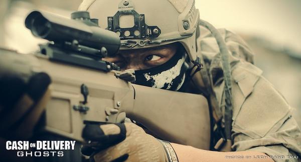"Cosplay Call of Duty: Ghosts ""thuần Việt"" cực chất 21"