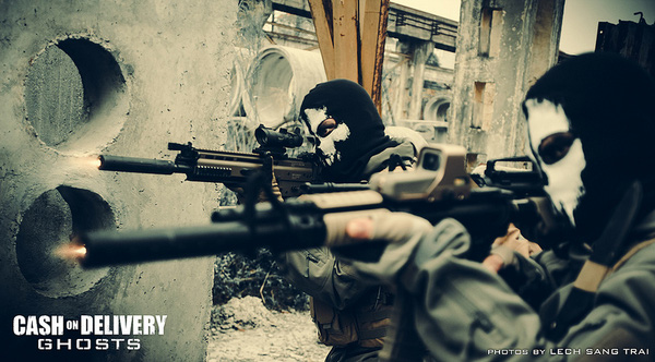 "Cosplay Call of Duty: Ghosts ""thuần Việt"" cực chất 24"