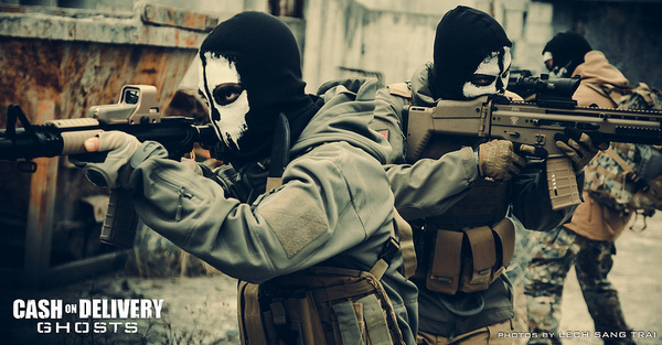 "Cosplay Call of Duty: Ghosts ""thuần Việt"" cực chất 26"