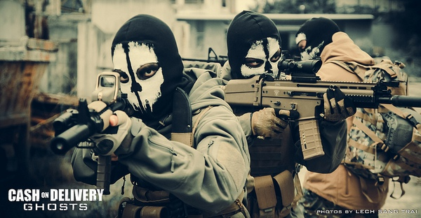 "Cosplay Call of Duty: Ghosts ""thuần Việt"" cực chất 27"