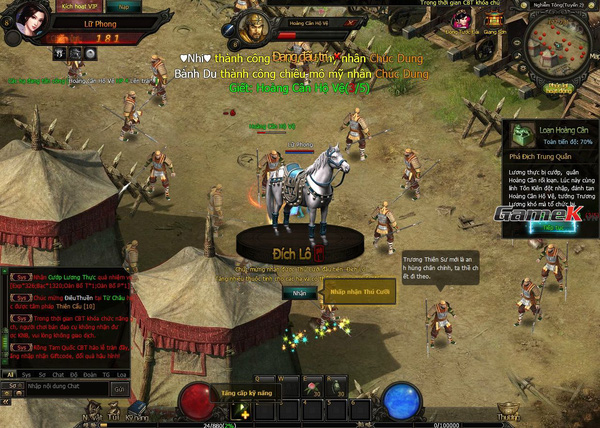 Rồng Tam Quốc là webgame hoàn hảo cho gamer thích rảnh tay 2